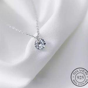INZATT  OL Cute Necklace 925 Sterling Silver